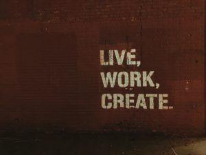 Constantly creating and thinking is key to a successful website or blog.